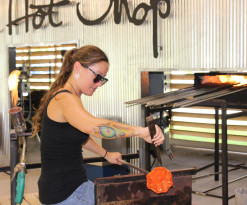 The Hot Shop at The Coastal Arts Center of Orange Beach