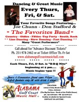 B-B-Q Nite Featuring Joe Chunn - Don Stafford & The Favorites Band