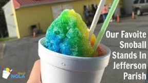 New Orleans Original Snoballs
