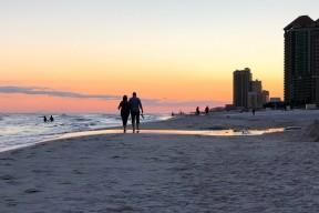 Romar海滩海湾国家公园海滩地区