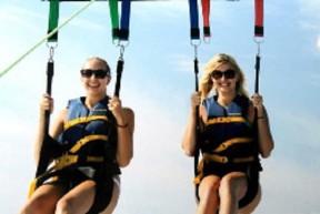 滑翔伞天空冲浪者