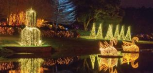 Magic Christmas in Lights Preview at Bellingrath Gardens and Home