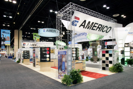 Americo at ISSA 2007 - Orlando - Exhibit Design, Production and Management by abcom