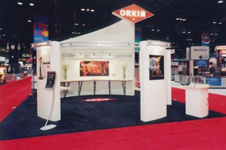 Orkin 20 x 30 Custom Exhibit (2)