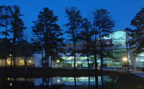 Clayton State at night