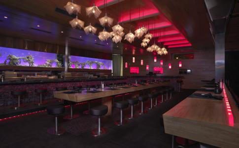 Award-Winning Sushi Bar at Luckie Food Lounge