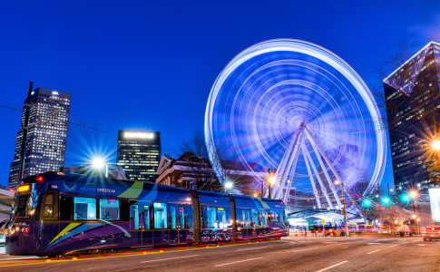 Atlanta-Streetcar-SkyView-Spinning