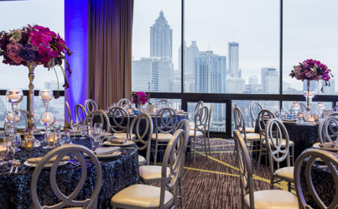 Crowne Plaza Atlanta Midtown - SKY Room - Elegant Dinner