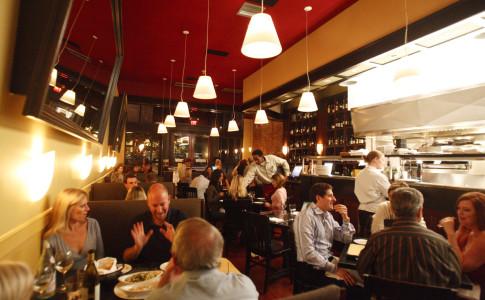 La Tavola's main dining room