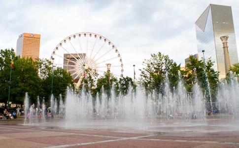 Skyview Atlanta - Atlanta Ferris Wheel in Centennial Park