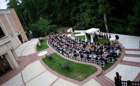 Ceremony on the Museum Terrace