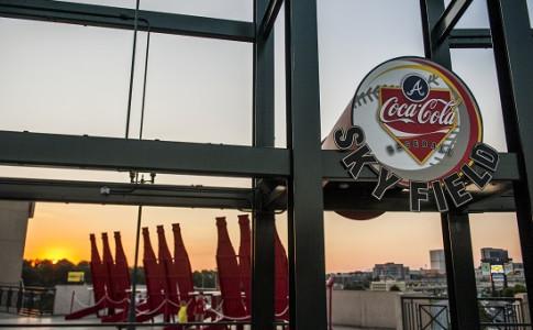 coca cola skyfield_coke chairs_sunset_sky field _sign.jpg