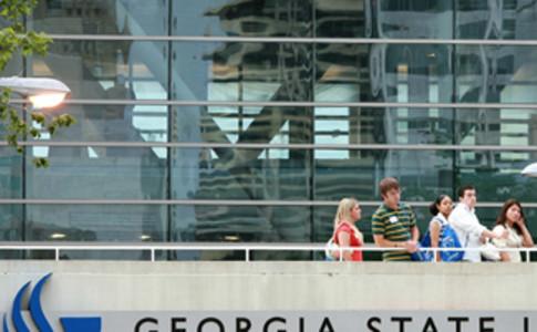 GSU library bridge