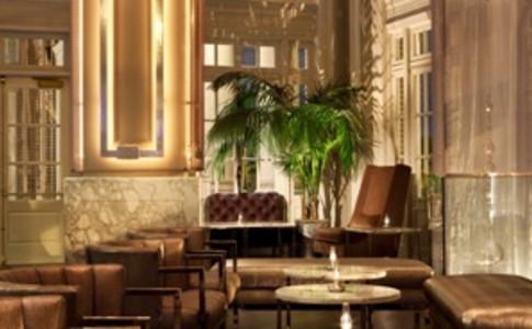 Livingston Bar + Lounge at Night