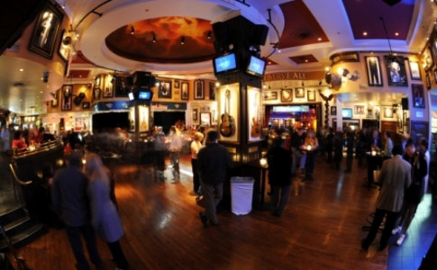 Hard Rock Cafe Atlanta Main Dining Room