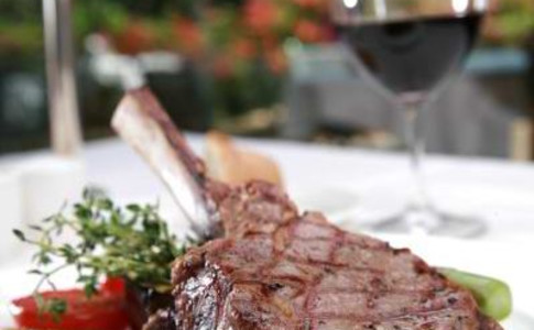 grilled veal chop