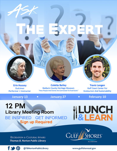 Ask the Expert Lunch and Learn