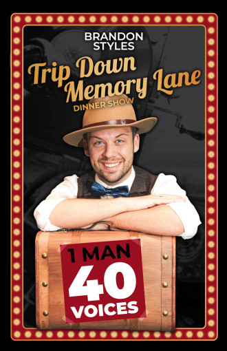 Dinner Show! Music From 50s-70s | Trip Down Memory Lane by Brandon Styles