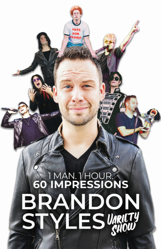 Brandon Styles VARIETY SHOW - Comedy, Magic & 60 Impressions!
