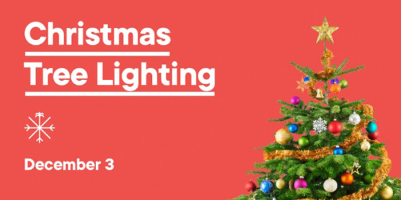 Christmas Tree Lighting at The Wharf