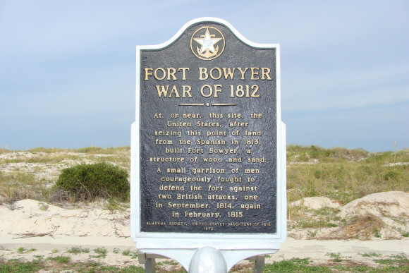 Last British Occupation of Fort Bowyer