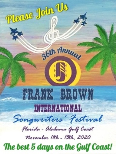 36th Annual Frank Brown International Songwriters' Festival