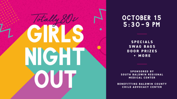 Totally 80's Girl's Night Out at The Wharf