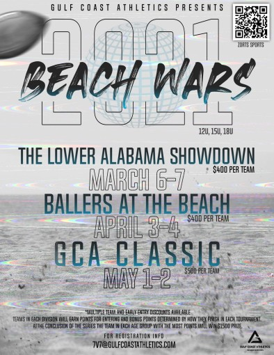 2021 Beach Wars 7 on 7 Football-Ballers at the Beach