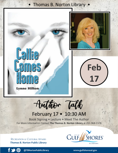 Author Talk with Lynne Hilton