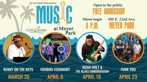 Music at Meyer Park featuring Funk You