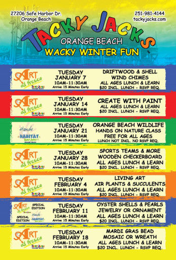 The 4th Annual Wacky Winter of Fun
