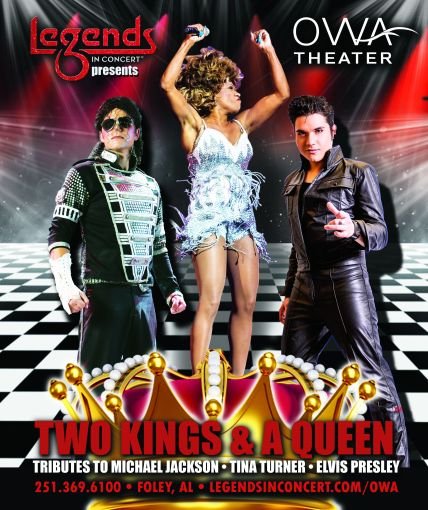 Two Kings & A Queen- Legends in Concert