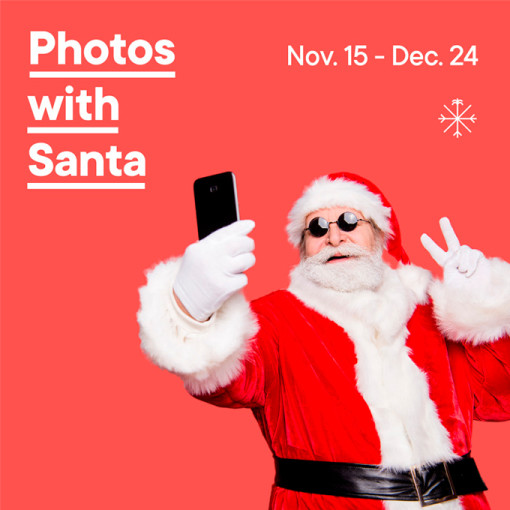 Photos with Santa at The Wharf