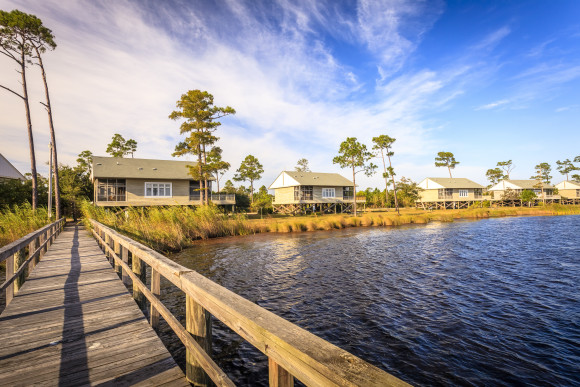 The Eagle Cottages at Gulf State Park