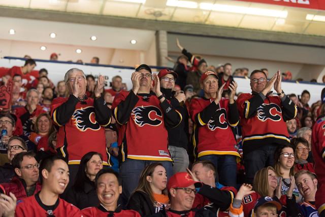 Calgary Flames vs. Detroit Red Wings