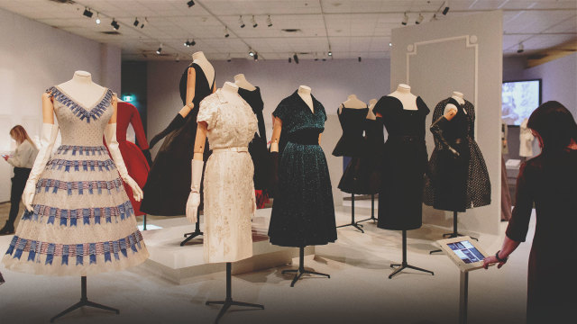 The Glenbow Museum - Christian Dior Exhibit