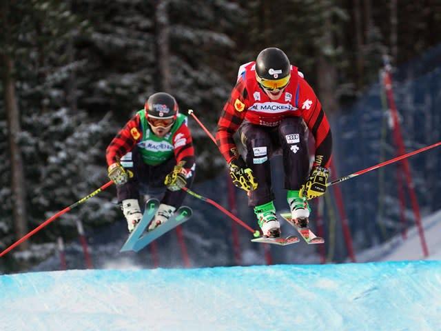 2022 Audi FIS Ski Cross World Cup at Nakiska Ski Area