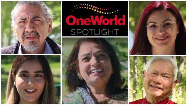 OneWorld Spotlight & Passport Pursuit contest