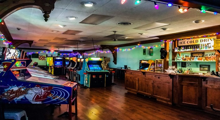 The Basement Arcade Bar