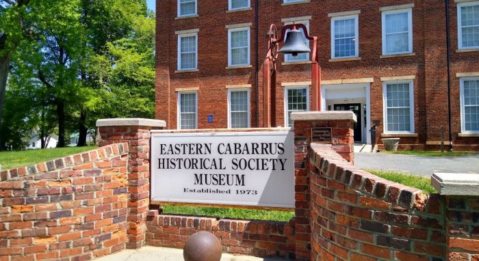 Eastern Cabarrus Historical Society Museum