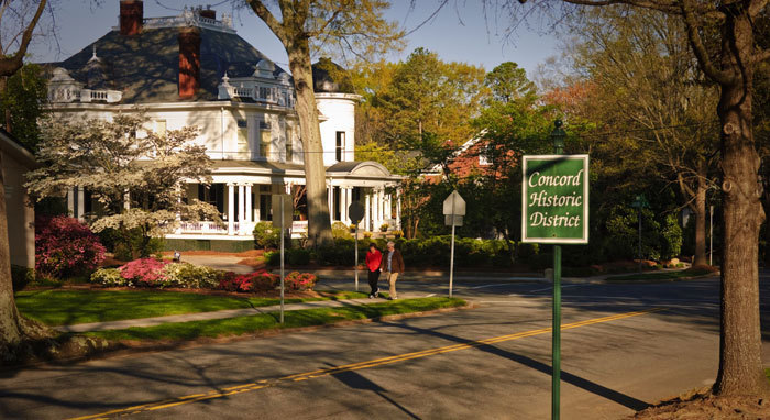 Concord Historic Walking Tour