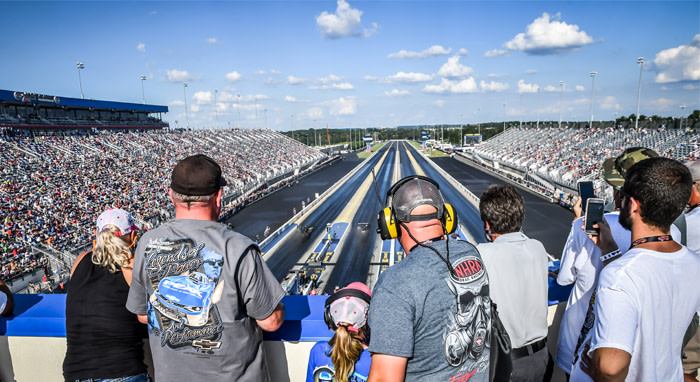zMAX Dragway at Charlotte Motor Speedway