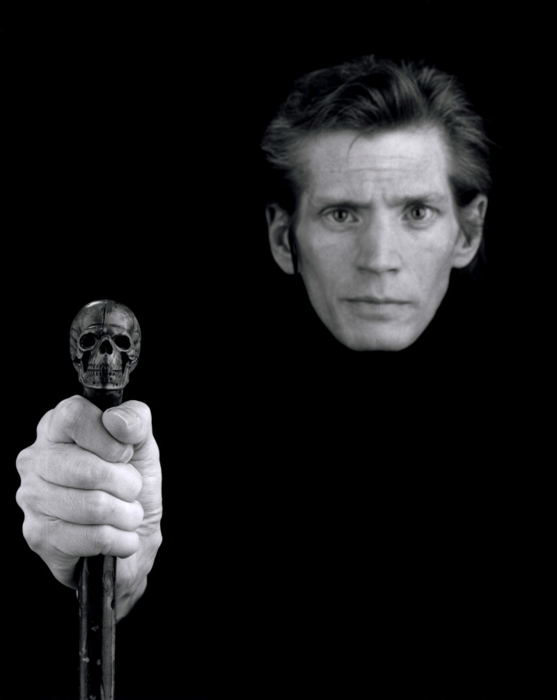 Mapplethorpe self portrait