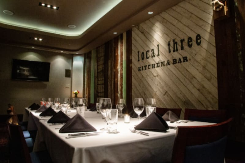 Choose from delicious brunch options at Local Three.