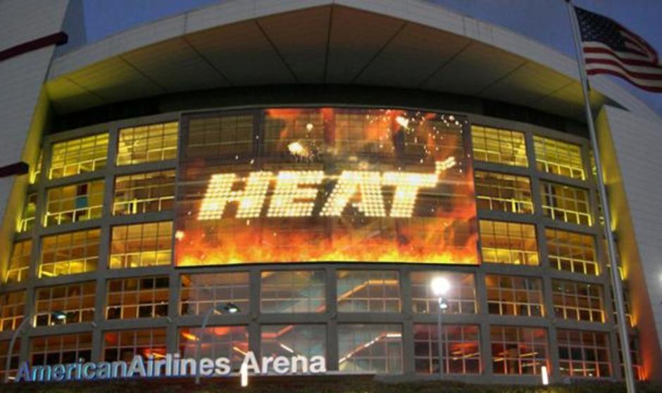 American Airlines Arena The Miami Heat Miami Sports