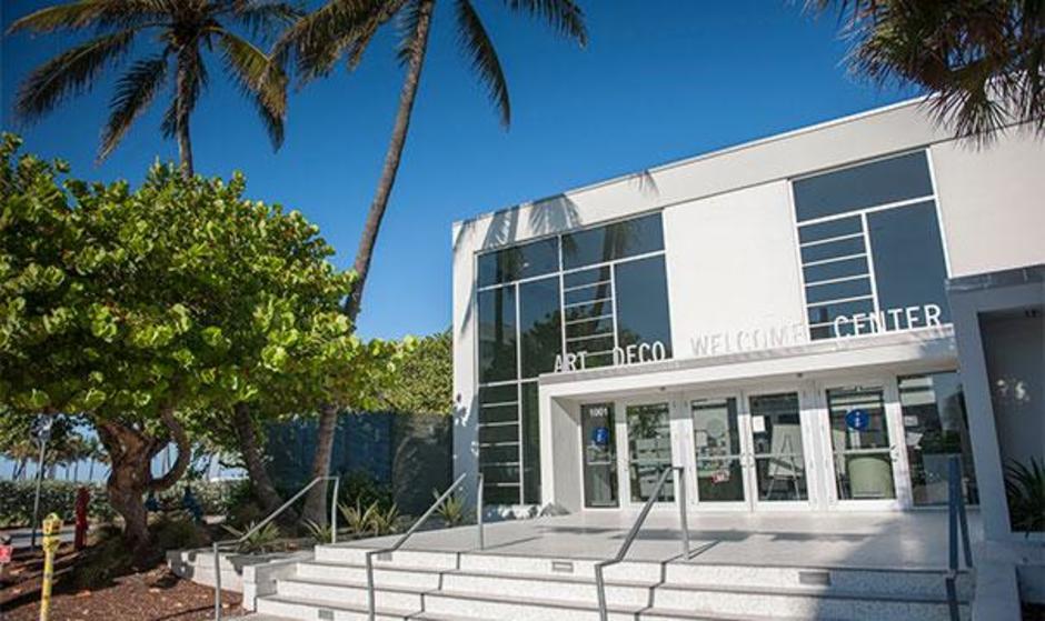 Art Deco Welcome Center Miami Design Preservation League Beach District South