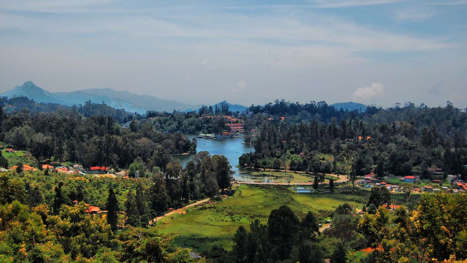 Upper Lake View Kodaikanal Pine Borough Resort kx6usv