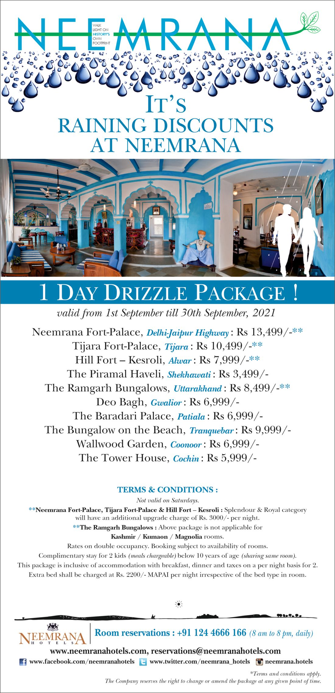 One Day Package