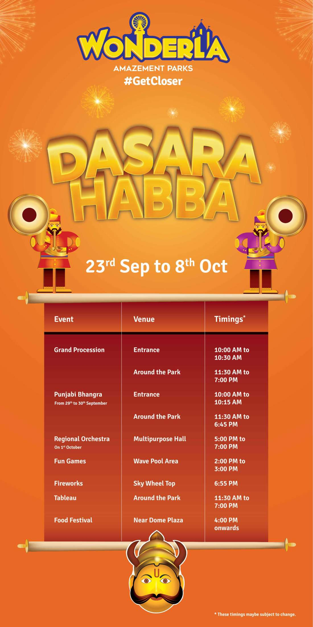Wonderla Amusement Parks & Resort  Standee Programme Detailes Standee Bangalore W 3 x H 6 ft 22 9 17 Final-01