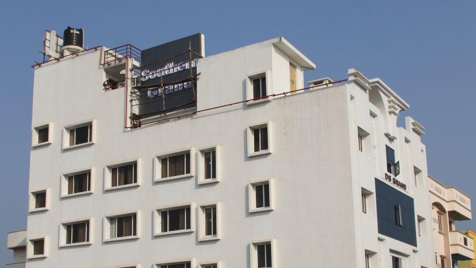 Facade_Hotel Southern Grand Vijayawada, 3 Star Hotel in Vijayawada, Hotels near Vijayawada Railway Station